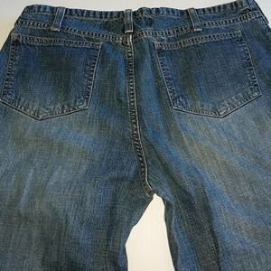 AMERICAN EAGLE Distressed Bootcut Size 8